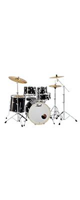 Pearl(パール) / EXPORT EXX Covering シンバル付ドラムフルセット 【EXX725S/C #31(ジェットブラック)】 - ドラムセット -  1大特典セット
