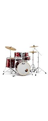 Pearl(パール) / EXPORT EXX Covering シンバル付ドラムフルセット 【EXX725S/C #760(バーガンディ)】 -  ドラムセット - 1大特典セット