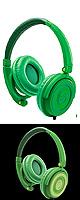 Reloop(リループ) / RHP-5 (Leaf Green) - ヘッドホン -【国内正規輸入品 保証書付き】 大特典セット