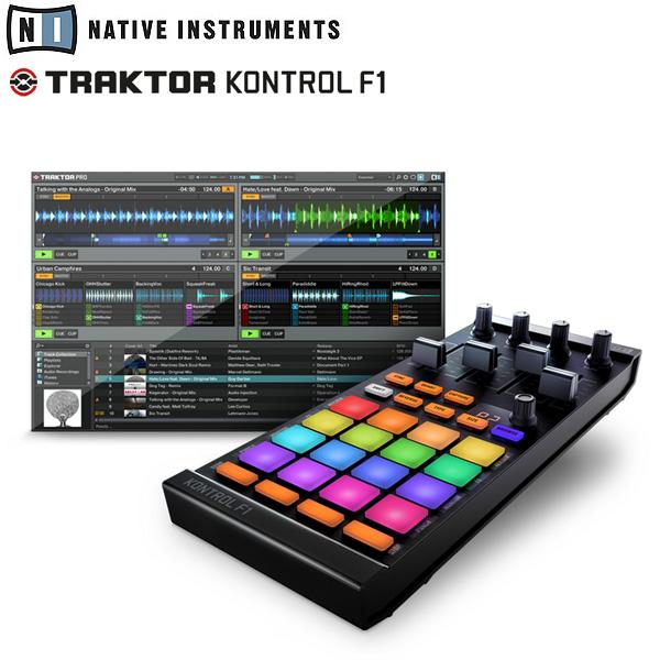 TRAKTOR KONTROL F1 NEW / Native Instruments(ネイティブインストゥルメンツ)