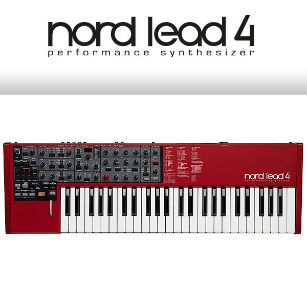 Clavia(クラヴィア) / Nord Lead 4 【49鍵シンセサイザー / キーボードタイプ】