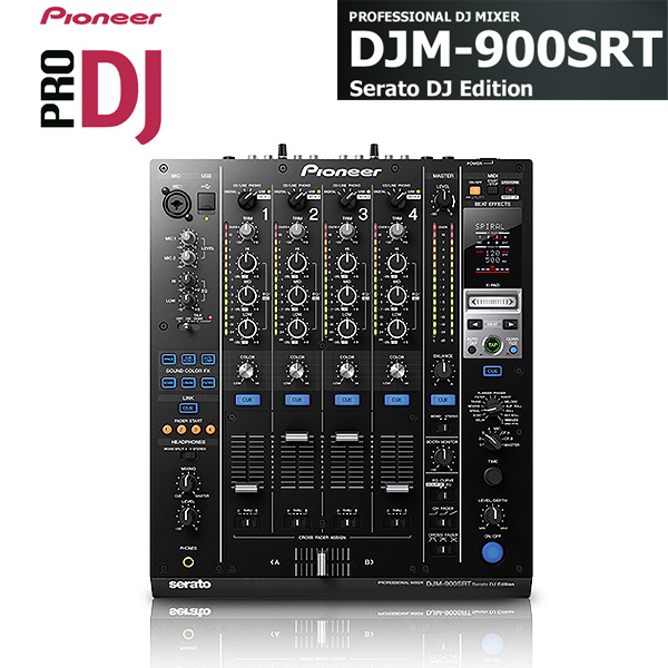 "Pioneer(パイオニア) / DJM-900SRT 「Serato DJ」 DVS対応ミキサー  ■限定セット内容■→ 【・最上級ケーブル3m1ペア ・""世界NO.1""USBケーブル ・ミックスCD作成KIT ・LS-01】"