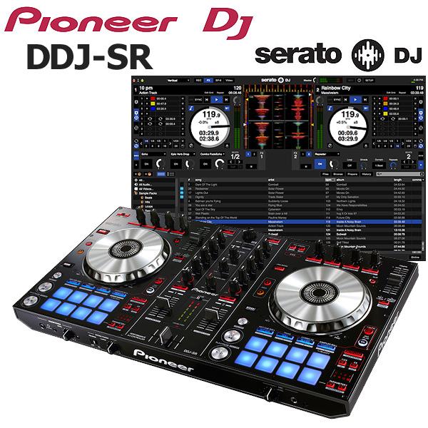 Pioneer(パイオニア) / DDJ-SR  【Serto DJ 無償】 PCDJコントローラー