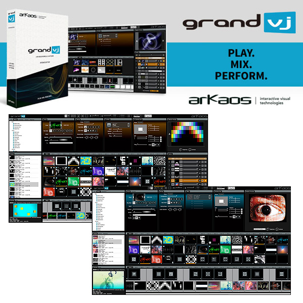 ArKaos(アルカオス) /GrandVJ 2 【プロジェクションマッピングにオススメ】 1大特典セット
