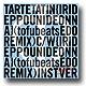 """タルトタタン / 入り鉄砲に出女 - Tofubeats Edo Remix [7""""]"""