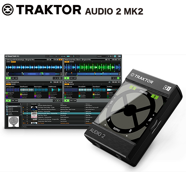 【限定1台】Native Instruments(ネイティブインストゥルメンツ) / TRAKTOR Audio 2 MK2 【TRAKTOR LE 2同梱】の商品レビュー評価はこちら