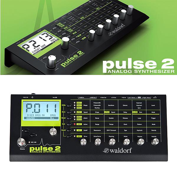Waldorf(ウォルドルフ) / Pulse 2 - アナログシンセサイザーモジュール -