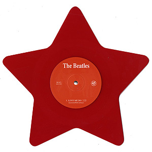 """The Beatles (ザ・ビートルズ) / Love Me Do Star Shaped Red Vinyl [7""""]"""