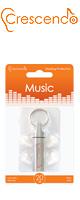 Crescendo(クレシェンド) / Music (ライブ用)  【イヤープロテクター(高性能耳栓)/遮音レベル:約19dB】