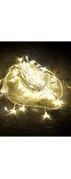 イルミネーションLEDライト (ホワイト/10m100球) 【DJ / クラブ / ショー / パーティー / バー / ウェディング / クリスマス等に最適】
