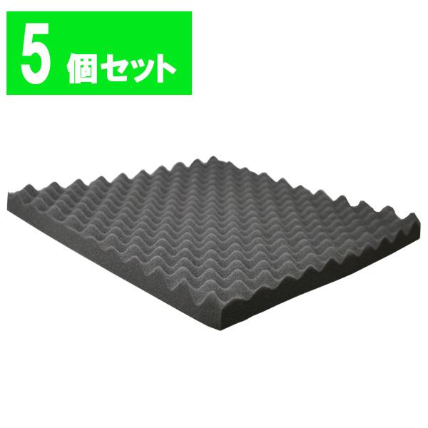 【5枚セット】Euro Style(ユーロスタイル) / ES-FL01 BLACK 吸音材