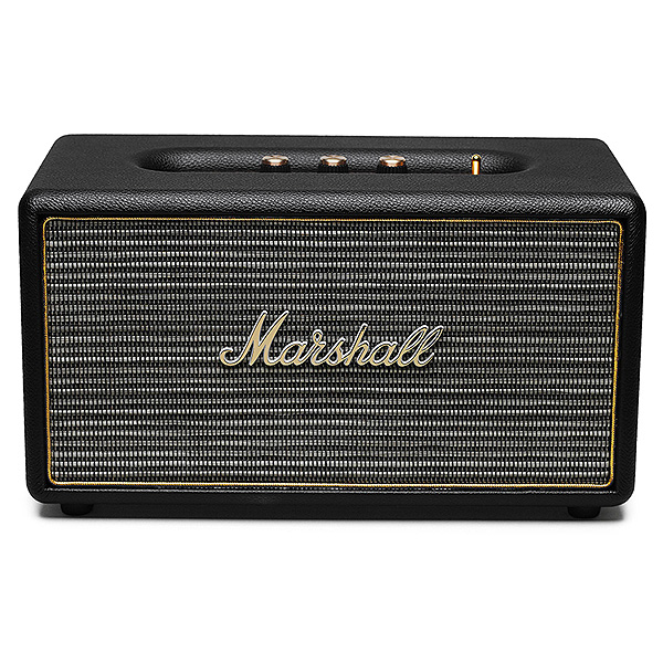 【限定1台】Marshall(マーシャル) / STANMORE (BLACK) Bluetooth対応 ワイヤレススピーカー 【箱ボロ / アウトレット品】 1大特典セット