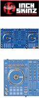 12inch SKINZ / Pioneer DDJ-SX SKINZ  (BLUE) 【DDJ-SX用スキン】