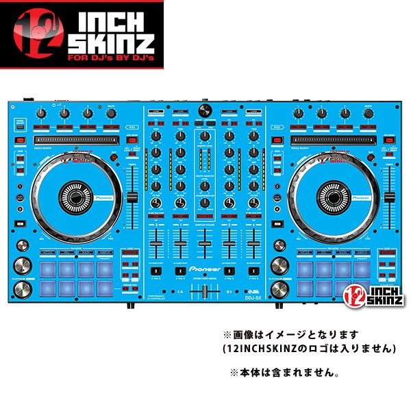 12inch SKINZ / Pioneer DDJ-SX SKINZ (Lite BLUE) 【DDJ-SX用スキン】