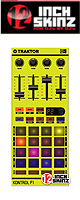 12inch SKINZ / Native Instruments F1 SKINZ - (NEON YELLOW) - 【F1用スキン】