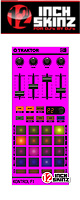 12inch SKINZ / Native Instruments F1 SKINZ - (NEON PINK) - 【F1用スキン】