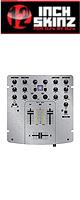 【限定1枚】12inch SKINZ / DENON DN-X120 SKINZ (SILVER) - 【DN-X120用スキン】『セール』『DJ機材』