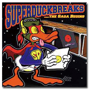 DJ BABU / Super Duck Breaks - バトルブレイクス - [LP]