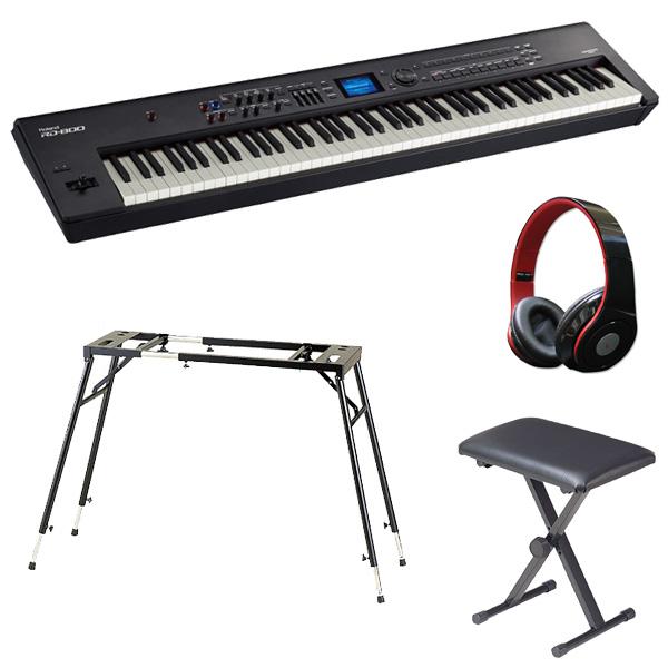 【テーブル型 スタンド & キーボードベンチ セット】Roland(ローランド) / RD-800