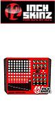 12inch SKINZ / Akai APC40 Skinz (Red/Black) 【APC40 用スキン】