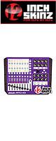 12inch SKINZ / Akai APC40 Skinz (Purple/White) 【APC40 用スキン】