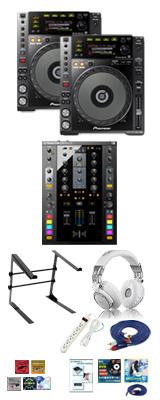 CDJ-850-K / TRAKTOR Kontrol Z2 激安ハイアマ Bセット 12大特典セット