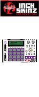 12inch SKINZ / Akai MPC1000 Skinz (White/Purple) 【Akai / MPC1000 用スキン】