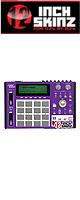 12inch SKINZ / Akai MPC1000 Skinz (Purple/White) 【Akai / MPC1000 用スキン】