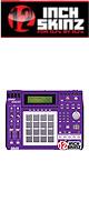 12inch SKINZ / Akai MPC2500 Skinz (Purple/White) 【Akai / MPC2500 用スキン】