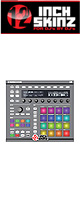 12inch SKINZ / Native Instruments Maschine MK2 Skinz (Gray) 【Maschine MK2 用スキン】