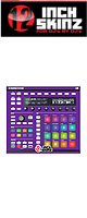 12inch SKINZ / Native Instruments Maschine MK2 Skinz (Purple) 【Maschine MK2 用スキン】