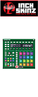 12inch SKINZ / Native Instruments Maschine MK2 Skinz (Green) 【Maschine MK2 用スキン】
