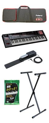 【基本セット】Roland(ローランド) / FA-06 - 61鍵盤ワークステーション・シンセサイザー - 3大特典セット