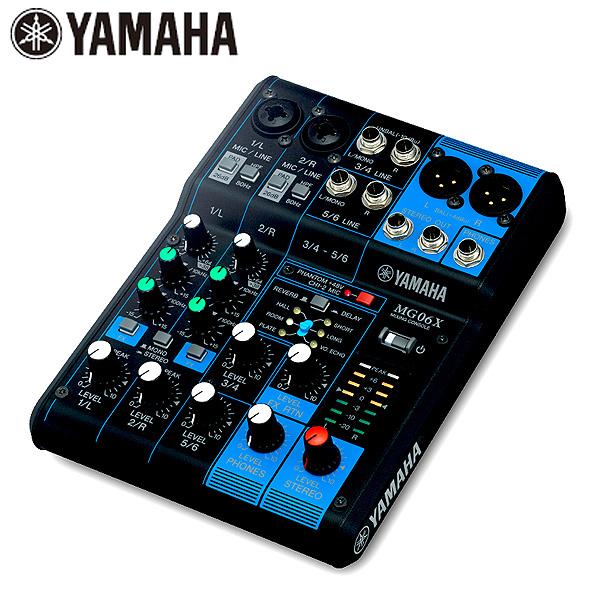 YAMAHA(ヤマハ) / MG06X -6チャンネルミキシングコンソール-