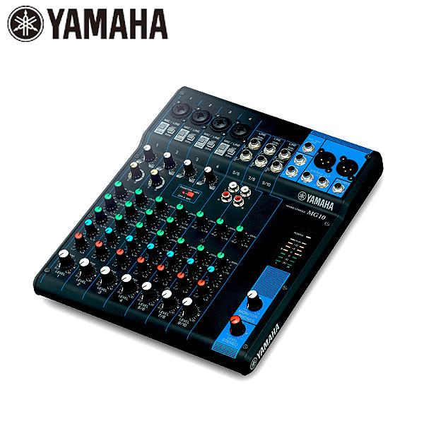YAMAHA(ヤマハ) / MG10 -10チャンネルミキシングコンソール-