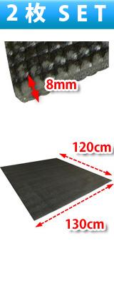 【2枚セット/合計120円以上お得】Pro-group(プロ・グループ) / FDM-01 【ドラムマット】【サイズ:約130cm x 120cm x 0.8cm】