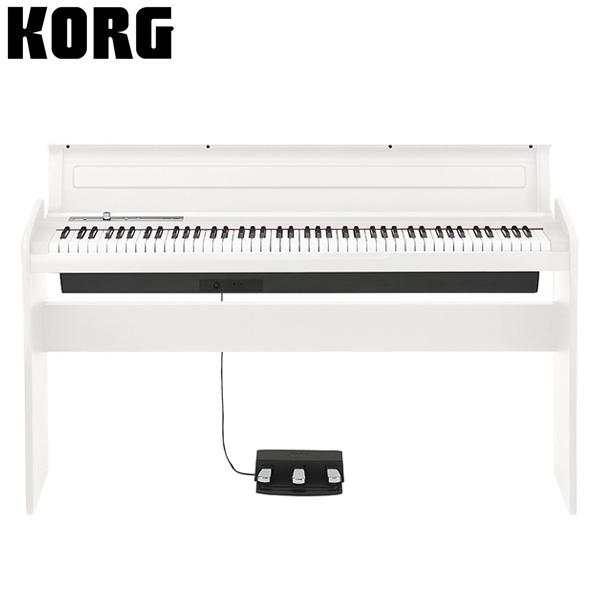 Korg(コルグ) / LP-180-WH (ホワイト) - デジタルピアノ - 【専用スタンド + 3本ペダル 付属】