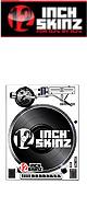 ■ご予約受付■ 12inch SKINZ / Reloop RP-8000 Magnetic Skinz (WHITE) ペア 【RP-8000用マグネットタイプスキン】