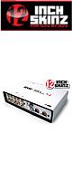 12inch SKINZ / Rane SL4 BOX Skinz (White) 【Rane / SERATO SCRATCH LIVE SL4 用スキン】