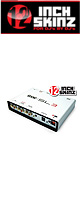 12inch SKINZ / Rane SL3 (GEN2) BOX Skinz (White) 【Rane / SERATO SCRATCH LIVE SL3 (GEN2) 用スキン】