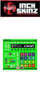 12inch SKINZ / Native Instruments Maschine MK2 Skinz (NEON GREEN) 【Maschine MK2 用スキン】