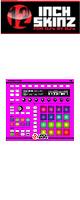 12inch SKINZ / Native Instruments Maschine MK2 Skinz (NEON PINK) 【Maschine MK2 用スキン】