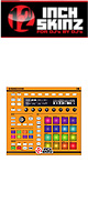 12inch SKINZ / Native Instruments Maschine MK2 Skinz (NEON ORANGE) 【Maschine MK2 用スキン】