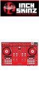12inch SKINZ / Native Instruments Kontrol S4 MK2 Skinz (Red) 【Kontrol S4 MK2 用スキン】
