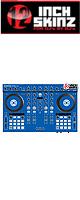 12inch SKINZ / Native Instruments Kontrol S4 MK2 Skinz (Blue) 【Kontrol S4 MK2 用スキン】