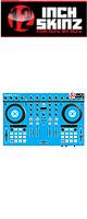 12inch SKINZ / Native Instruments Kontrol S4 MK2 Skinz (Lite Blue) 【Kontrol S4 MK2 用スキン】
