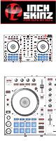 ■ご予約受付■ 12inch SKINZ / Pioneer DDJ-SR SKINZ (White/Gray) 【DDJ-SR用スキン】