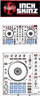 ■ご予約受付■ 12inch SKINZ / Pioneer DDJ-SR SKINZ (White/Black) 【DDJ-SR用スキン】