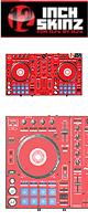 ■ご予約受付■ 12inch SKINZ / Pioneer DDJ-SR SKINZ (Red) 【DDJ-SR用スキン】