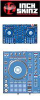 ■ご予約受付■ 12inch SKINZ / Pioneer DDJ-SR SKINZ (Blue) 【DDJ-SR用スキン】